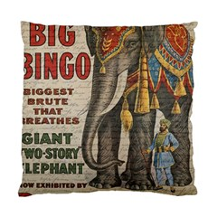 Vintage Circus  Standard Cushion Case (two Sides) by Valentinaart