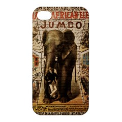 Vintage Circus  Apple Iphone 4/4s Premium Hardshell Case by Valentinaart