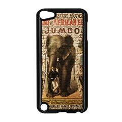 Vintage Circus  Apple Ipod Touch 5 Case (black) by Valentinaart