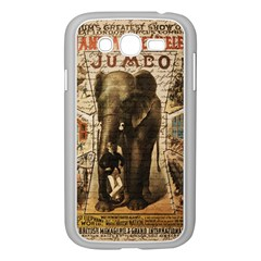 Vintage Circus  Samsung Galaxy Grand Duos I9082 Case (white) by Valentinaart