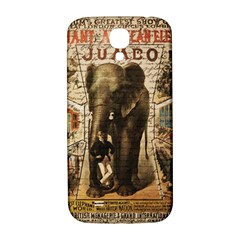 Vintage Circus  Samsung Galaxy S4 I9500/i9505  Hardshell Back Case by Valentinaart