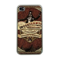 Vintage Circus  Apple Iphone 4 Case (clear) by Valentinaart