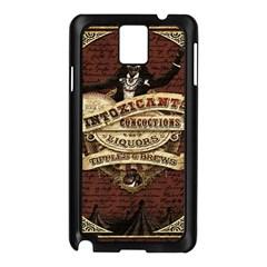 Vintage Circus  Samsung Galaxy Note 3 N9005 Case (black) by Valentinaart