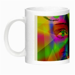 Rainbow Girl Night Luminous Mugs by Valentinaart