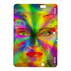 Rainbow Girl Kindle Fire Hdx 8 9  Hardshell Case by Valentinaart