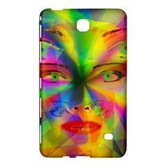 Rainbow Girl Samsung Galaxy Tab 4 (8 ) Hardshell Case  by Valentinaart