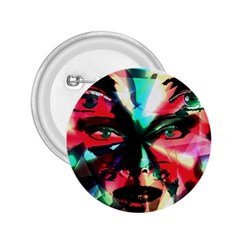 Abstract Girl 2 25  Buttons by Valentinaart