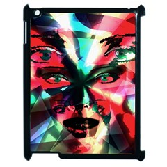 Abstract Girl Apple Ipad 2 Case (black) by Valentinaart