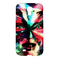 Abstract Girl Samsung Galaxy S4 I9500/i9505 Hardshell Case by Valentinaart