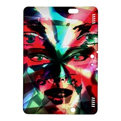 Abstract Girl Kindle Fire Hdx 8 9  Hardshell Case by Valentinaart