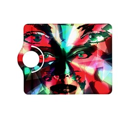Abstract Girl Kindle Fire Hd (2013) Flip 360 Case by Valentinaart
