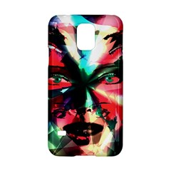 Abstract Girl Samsung Galaxy S5 Hardshell Case  by Valentinaart