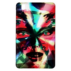 Abstract Girl Samsung Galaxy Tab Pro 8 4 Hardshell Case by Valentinaart