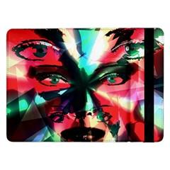 Abstract Girl Samsung Galaxy Tab Pro 12 2  Flip Case by Valentinaart