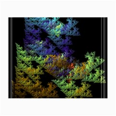 Fractal Forest Small Glasses Cloth by Simbadda
