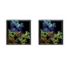 Fractal Forest Cufflinks (square) by Simbadda