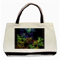 Fractal Forest Basic Tote Bag (two Sides) by Simbadda