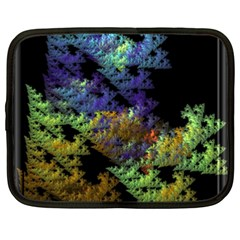 Fractal Forest Netbook Case (xxl)  by Simbadda