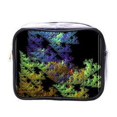Fractal Forest Mini Toiletries Bags by Simbadda