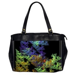 Fractal Forest Office Handbags (2 Sides)  by Simbadda