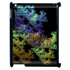 Fractal Forest Apple Ipad 2 Case (black) by Simbadda