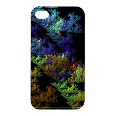 Fractal Forest Apple Iphone 4/4s Hardshell Case by Simbadda