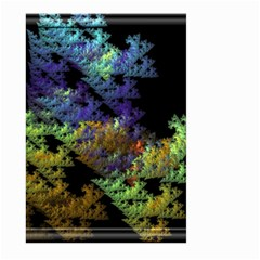 Fractal Forest Large Garden Flag (two Sides) by Simbadda