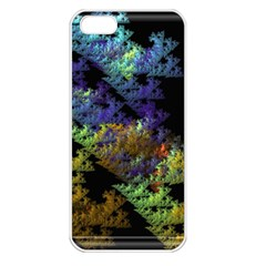 Fractal Forest Apple Iphone 5 Seamless Case (white) by Simbadda