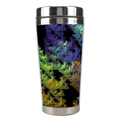 Fractal Forest Stainless Steel Travel Tumblers by Simbadda