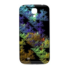 Fractal Forest Samsung Galaxy S4 I9500/i9505  Hardshell Back Case by Simbadda