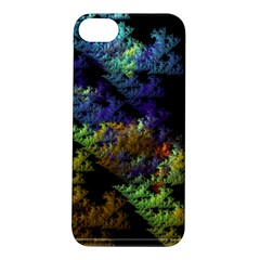 Fractal Forest Apple Iphone 5s/ Se Hardshell Case by Simbadda