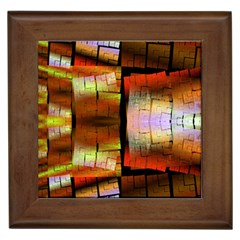 Fractal Tiles Framed Tiles by Simbadda
