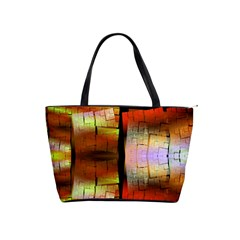 Fractal Tiles Shoulder Handbags by Simbadda