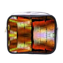 Fractal Tiles Mini Toiletries Bags by Simbadda