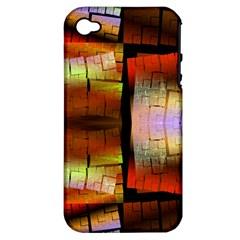 Fractal Tiles Apple Iphone 4/4s Hardshell Case (pc+silicone) by Simbadda