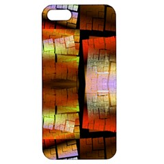 Fractal Tiles Apple Iphone 5 Hardshell Case With Stand by Simbadda