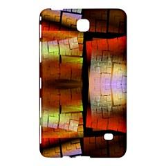 Fractal Tiles Samsung Galaxy Tab 4 (8 ) Hardshell Case  by Simbadda