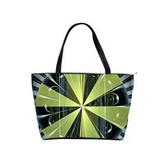 Fractal Ball Shoulder Handbags by Simbadda