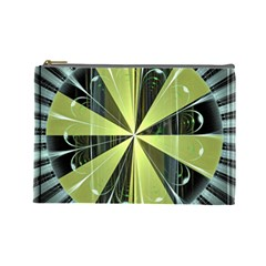 Fractal Ball Cosmetic Bag (large)  by Simbadda