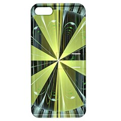 Fractal Ball Apple Iphone 5 Hardshell Case With Stand by Simbadda