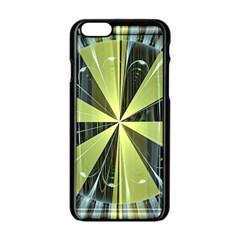 Fractal Ball Apple Iphone 6/6s Black Enamel Case by Simbadda