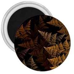 Fractal Fern 3  Magnets by Simbadda