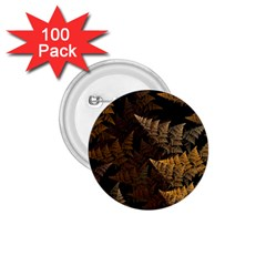Fractal Fern 1 75  Buttons (100 Pack)  by Simbadda
