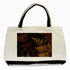 Fractal Fern Basic Tote Bag by Simbadda