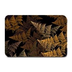 Fractal Fern Plate Mats by Simbadda