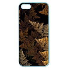 Fractal Fern Apple Seamless Iphone 5 Case (color) by Simbadda