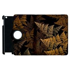 Fractal Fern Apple Ipad 3/4 Flip 360 Case by Simbadda