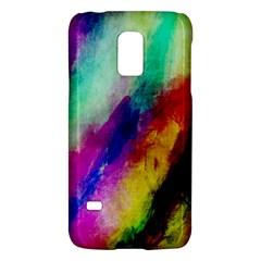 Abstract Colorful Paint Splats Galaxy S5 Mini by Simbadda