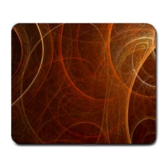 Fractal Color Lines Large Mousepads by Simbadda