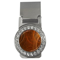 Fractal Color Lines Money Clips (cz)  by Simbadda
